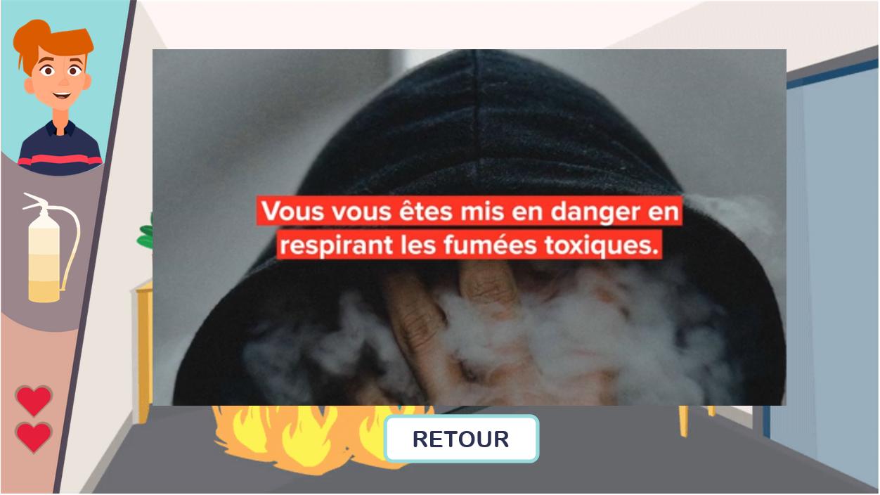 Prévention du risque incendie - fumées toxiques